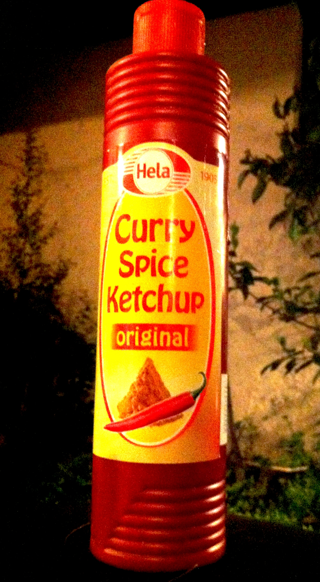 curry spice ketchup