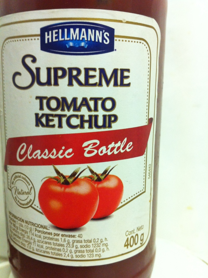 ketchup hellmann's supreme